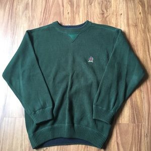 Vintage green Tommy Hilfiger sweater